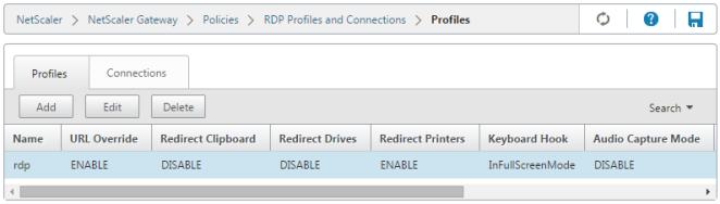 RDP Profile
